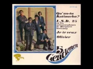 Les 5 Gentlemen – LSD 25 {1966}